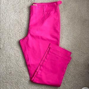 Women pink pants